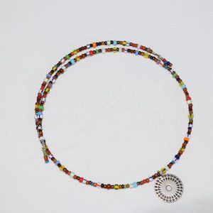 Beaded Choker with pendant